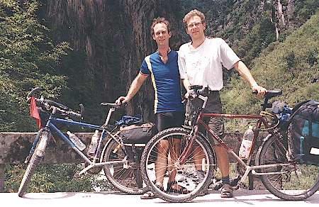 Rainer and Peter in Wolong