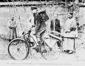 1893 American Cyclist in China