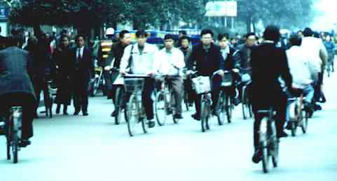 Critical Mass Everyday in Chengdu